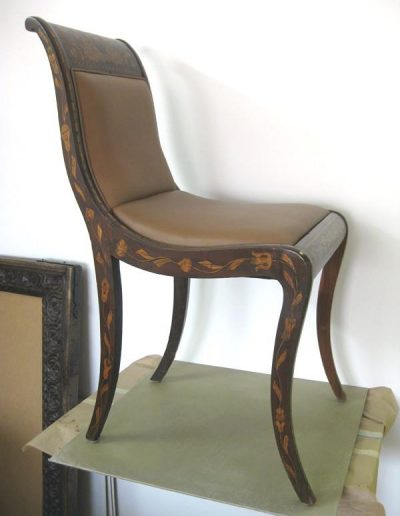 Antique Chair Restoration After