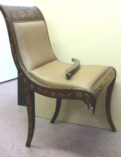 Antique Chair Restoration Before