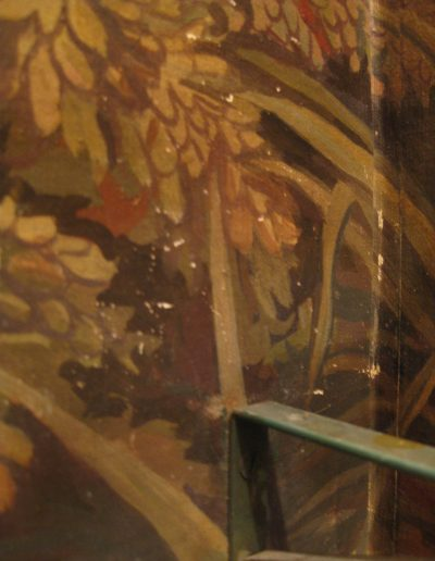 Damaged Mural to be restored