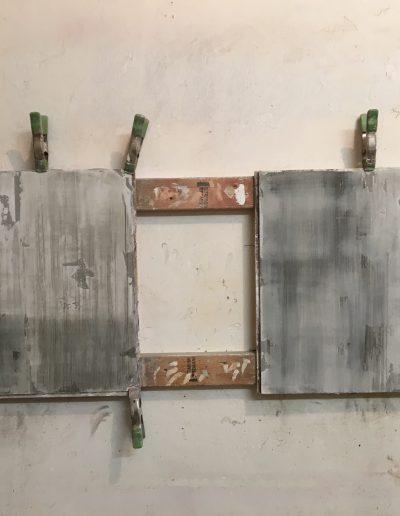 Disrtressed Plaster Samples