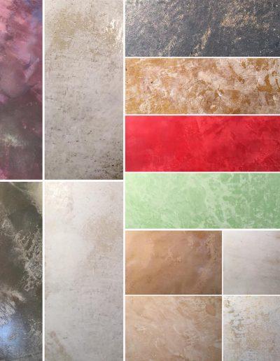 Venetian Plaster Samples