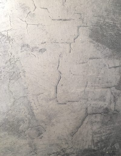 Crackled Marmorino Plaster