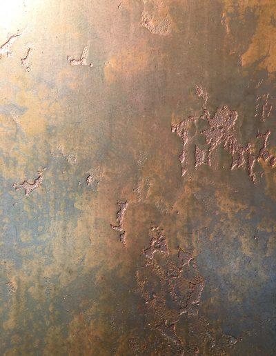 Marmorino Plaster with Metallic Glaze