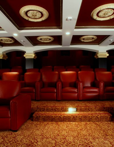 Private Theatre with Gilded Ceiling