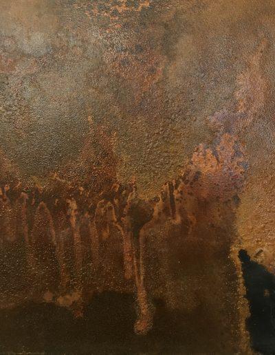 Rust Created on Metal Sample