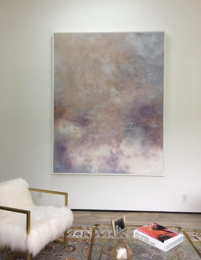 Venetian Plaster Abstract Art