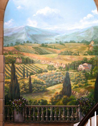 Tuscany mural