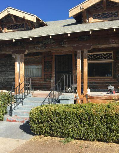 Craftsman house restoration