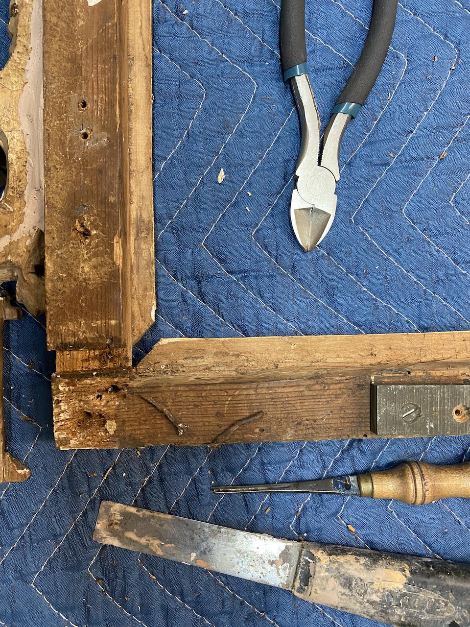 Gladkov Studios Los Angeles Gilder Gold Leaf Gilding Antique restoration Antique frame