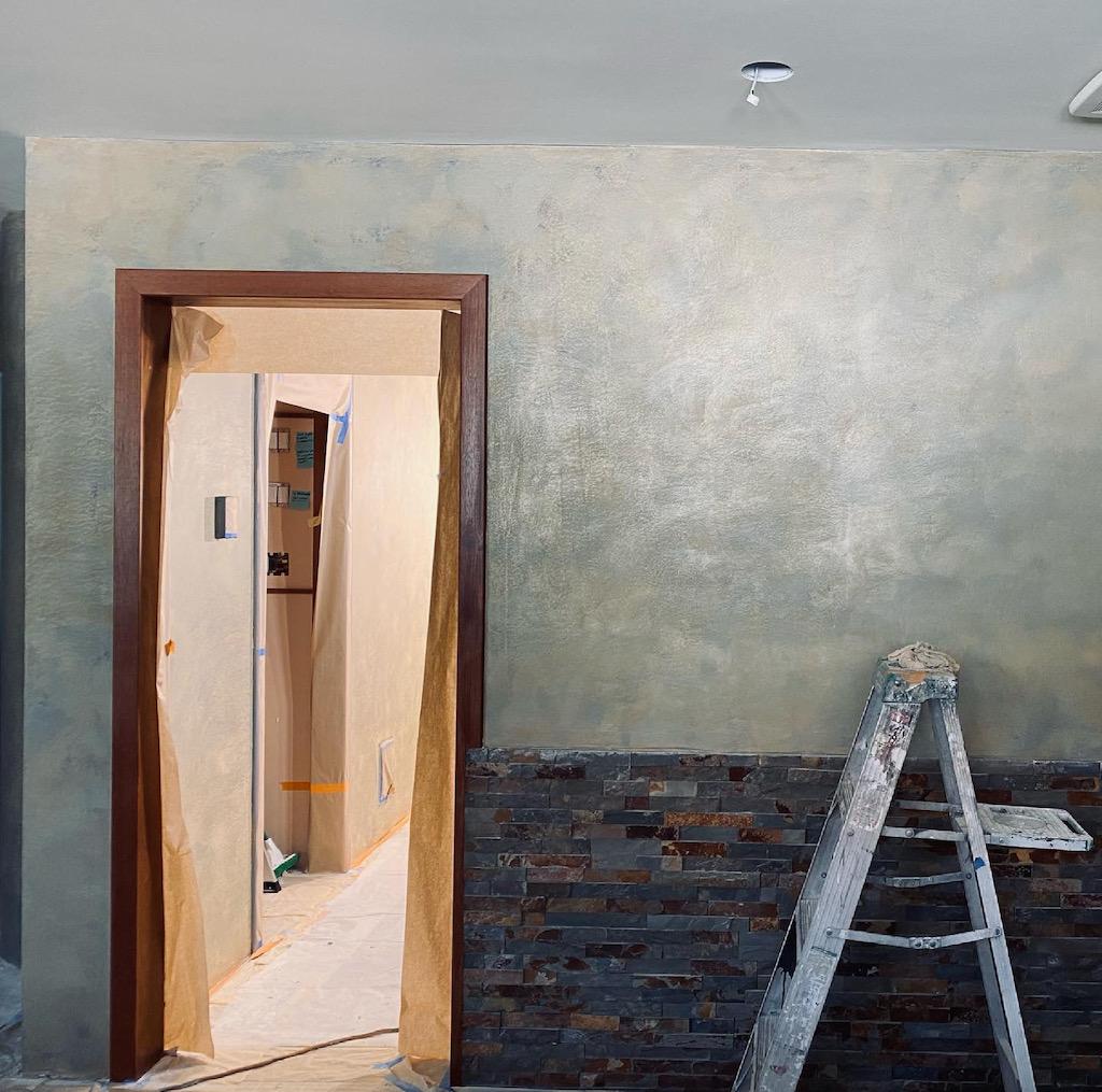 Gladkov Studios Venetian Plaster Marmorino Architectural Plaster Polished Plaster Metallic Plaster